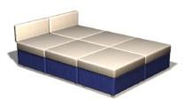 Диван - двухъярусная кровать трансформер NEW в Волгограде с информацией о цене и возможности купить (заказать