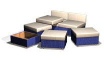 Мебель-трансформер на заказ от производителя в Москве. . Шкаф кровать трансформер вертикальная двуспальная - купить